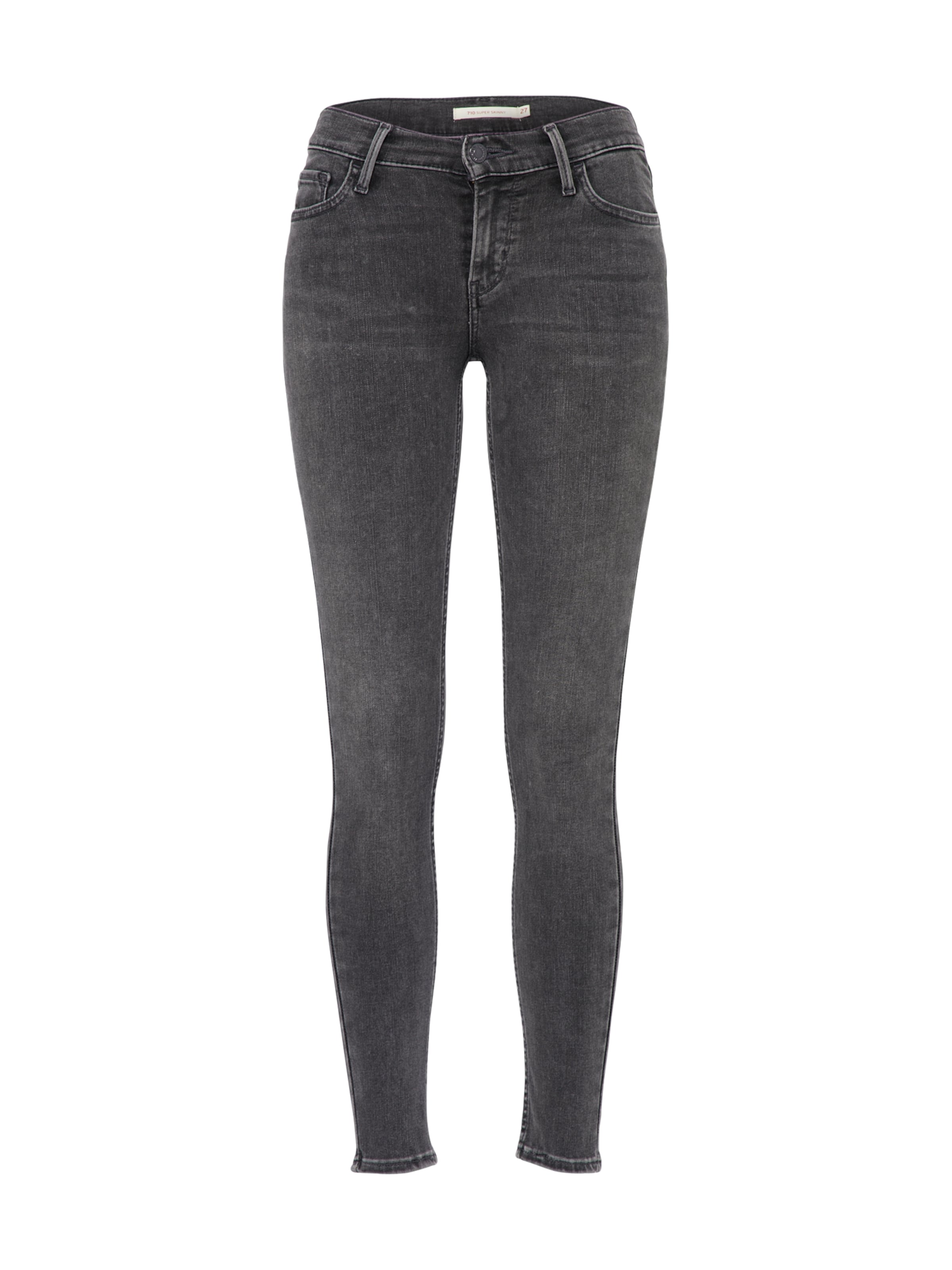 Super Skinny' Denim Levi's '710 In Innovation Grey Jeans sQtdChr