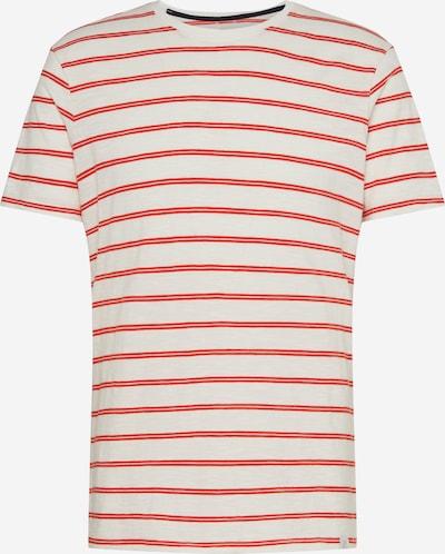 NOWADAYS Shirt 'SZ stripe shirt' in orangerot, Produktansicht