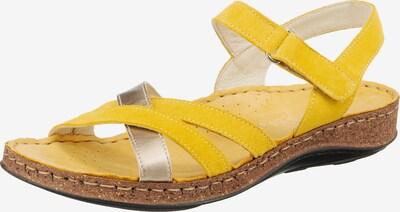 Paul Vesterbro Sandale in gelb, Produktansicht