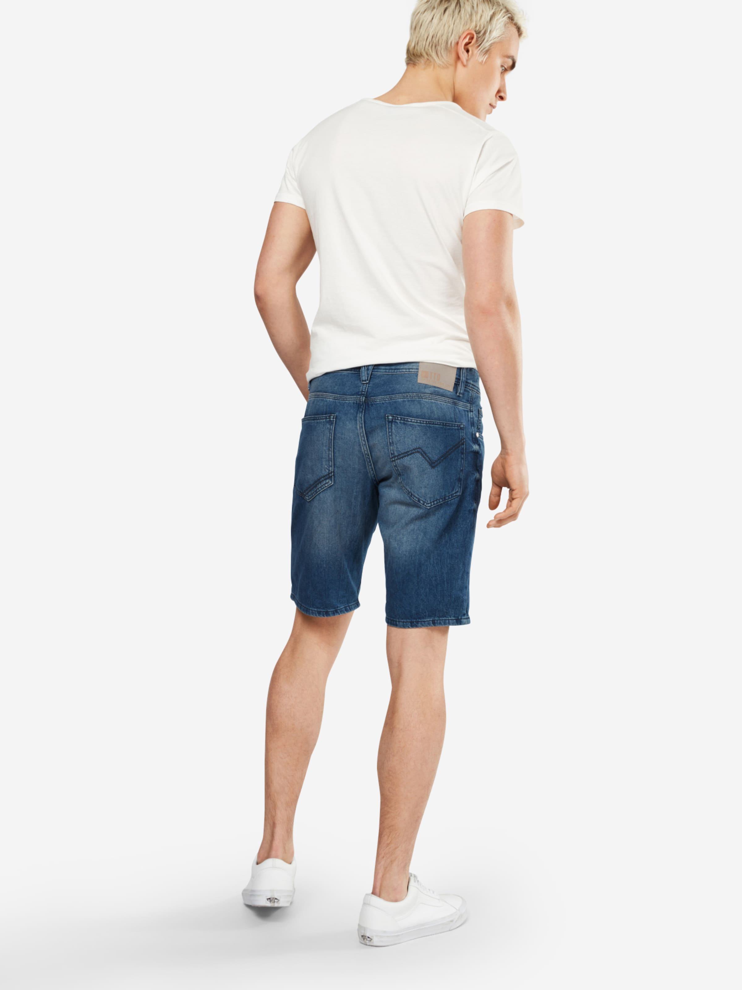 TOM TAILOR DENIM Regular Fit Denim Shorts Auslass Niedriger Versand 7xohqpZ9