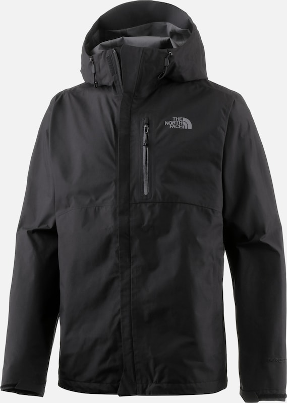THE NORTH FACE Funktionsjacke 'Dryzzle' in schwarz: Frontalansicht