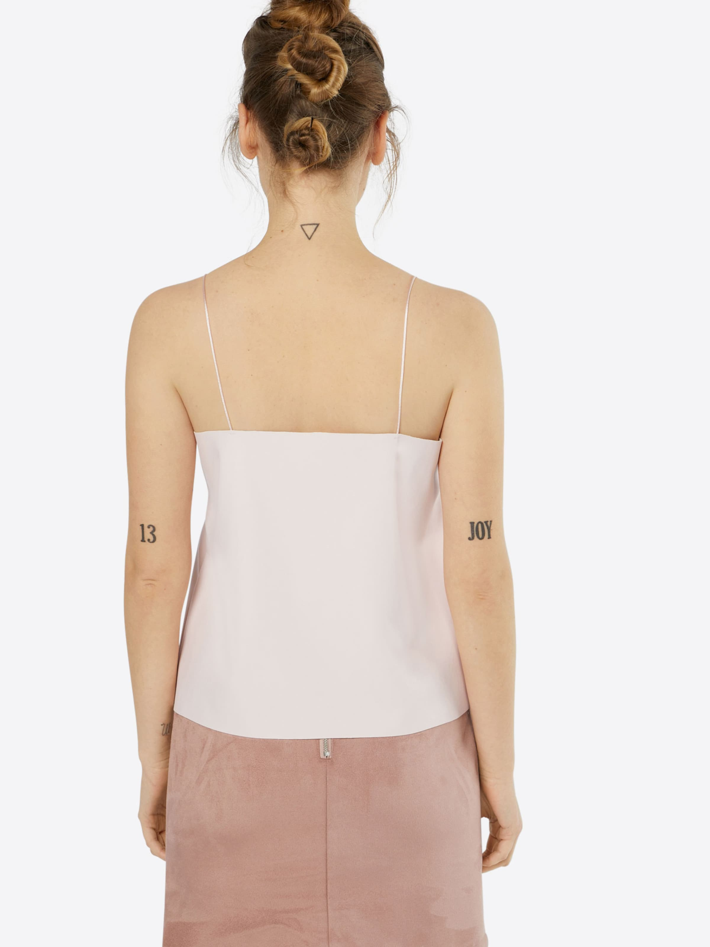 Noisy May Kunstleder Rosa 'milton' Top In 2EDWH9I