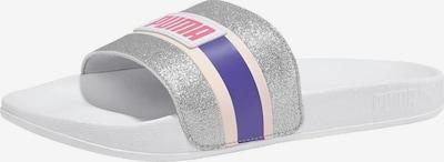 PUMA Sandals 'Leadcat FTR 90s Pop Wns' in Dark purple / Silver, Item view