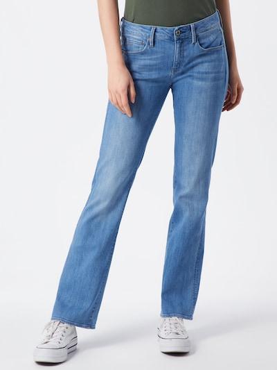 G-Star RAW Jeans '3301 Mid Skinny Bootcut Wmn' in blau, Modelansicht