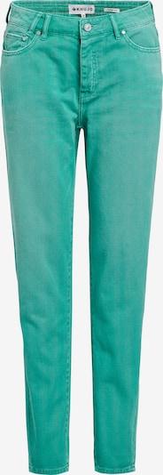 khujo Jeans 'Locklyn' in de kleur Jade groen, Productweergave