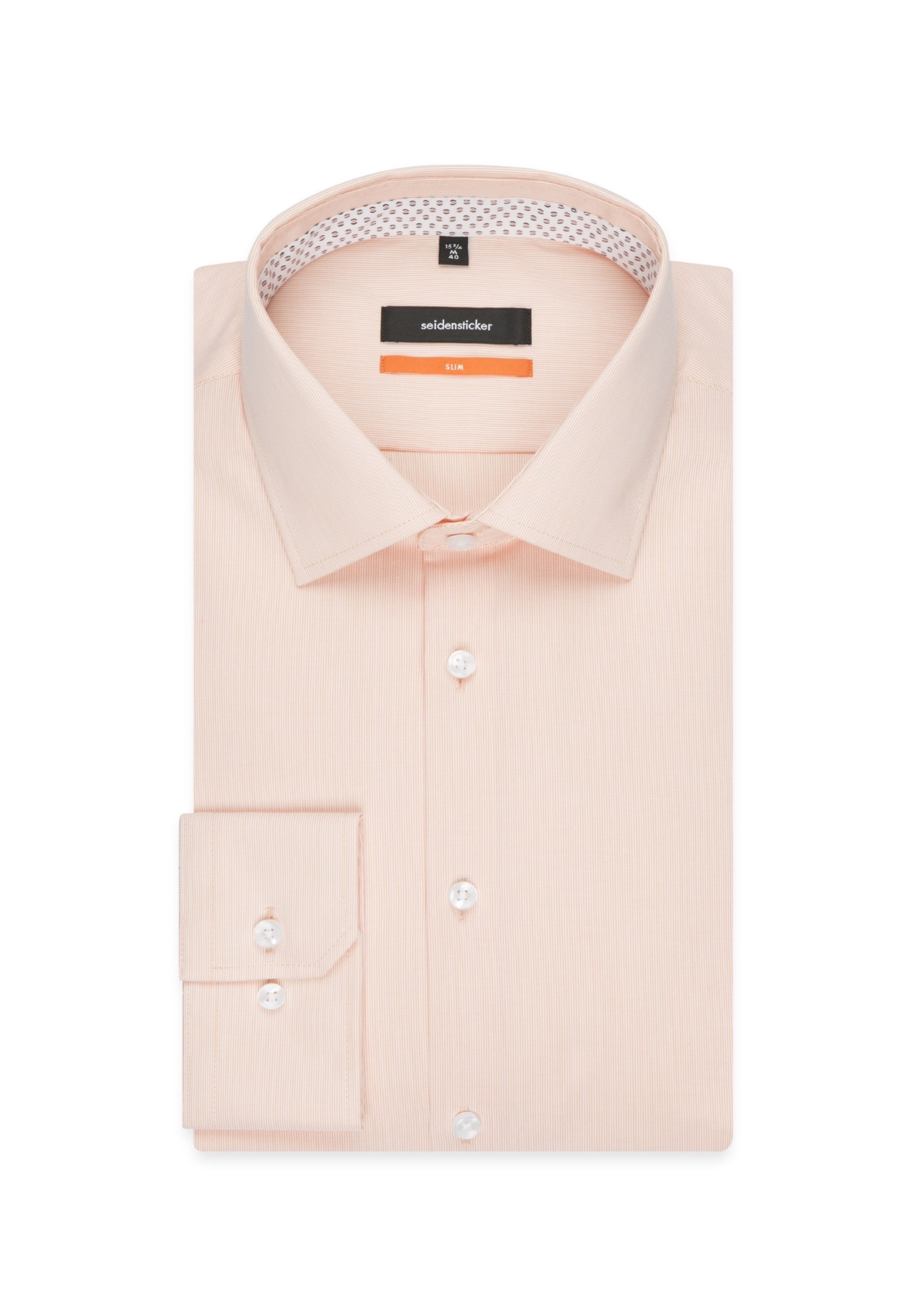 OrangeWeiß In In Seidensticker Seidensticker Hemd Hemd OrangeWeiß Nn0v8mw