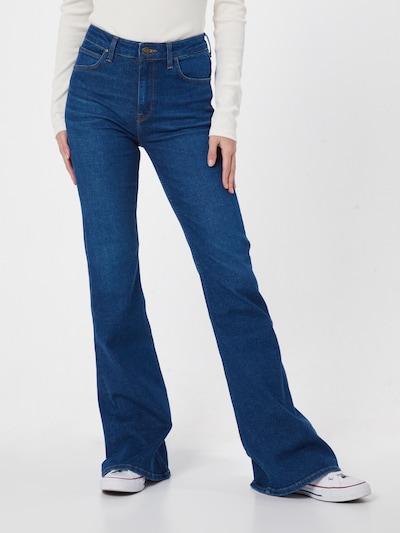 Lee Jeans in blau, Modelansicht