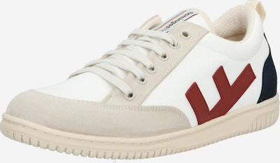 Flamingos' Life Sneakers low 'ROLAND' in Nude / Navy / Red / White, Item view