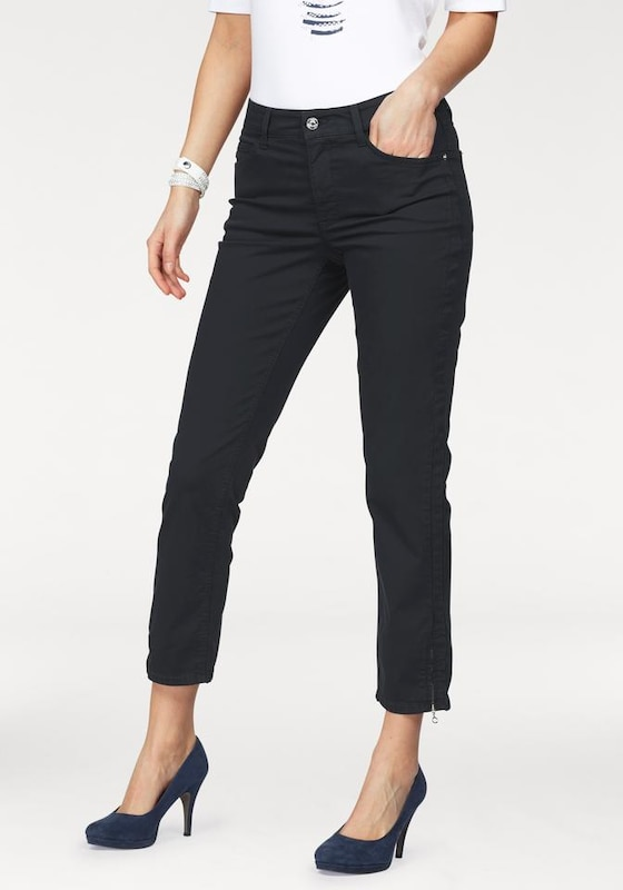 mac ankle jeans 39 melanie zip 39 in blau about you. Black Bedroom Furniture Sets. Home Design Ideas