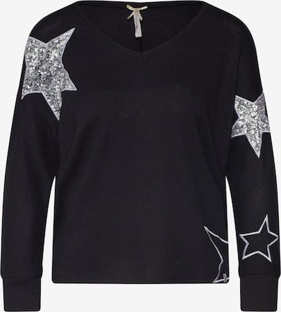 Key Largo Pullover 'WLS GALAXY v-neck 3' in schwarz, Produktansicht