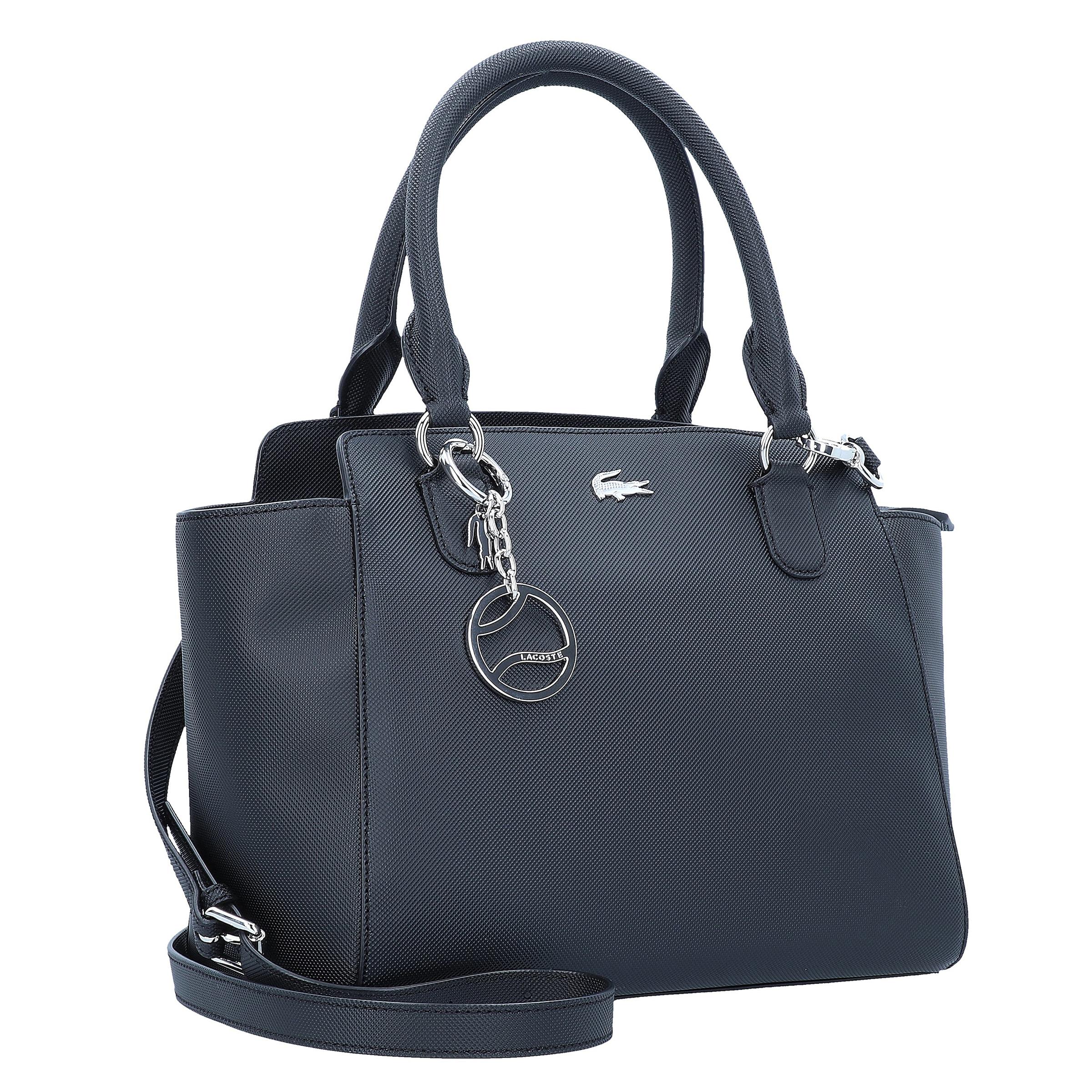Classic' Lacoste Schwarz Handtasche 'daily In lK1JFc