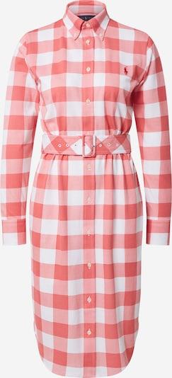POLO RALPH LAUREN Robe-chemise 'HEIDI' en rouge / blanc, Vue avec produit