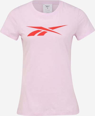 REEBOK Shirt in rosa / rot: Frontalansicht