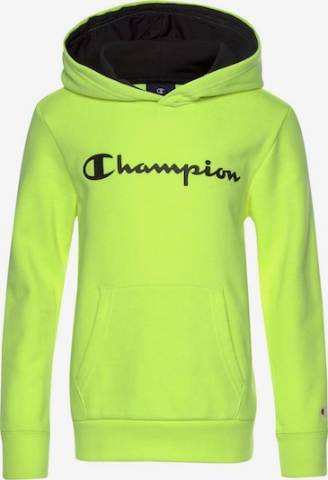 Champion Authentic Athletic Apparel Sweatshirt in neongelb / schwarz, Produktansicht