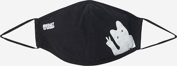 Masque en tissu 'Bye Bye Cat' Iriedaily en noir