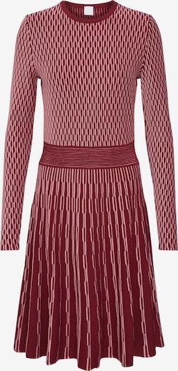 BOSS Robes en maille 'Illoran' en rouge, Vue avec produit