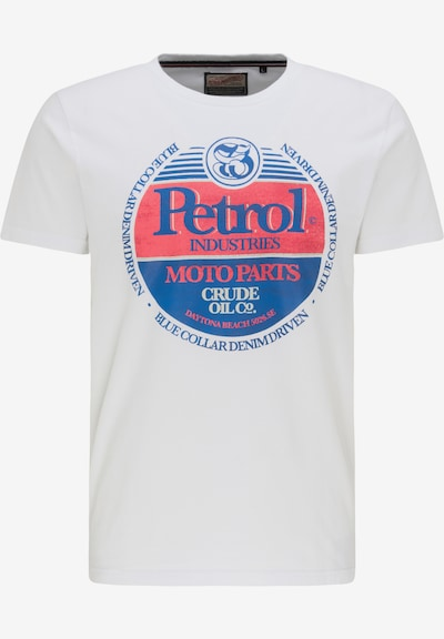 Petrol Industries T-Shirt 'Petrol Industries' in weiß, Produktansicht