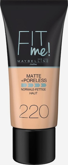 MAYBELLINE New York 'Fit me! Matte+Poreless', Make-up in nude, Produktansicht