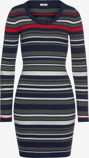 KangaROOS Shirtkleid in marine / grau / rot / weiß, Produktansicht