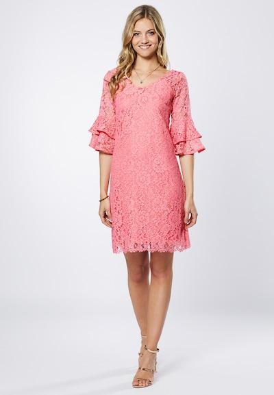 Young Couture by BARBARA SCHWARZER Kleid in koralle, Modelansicht