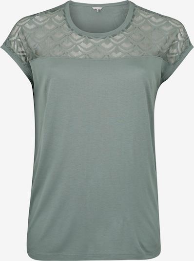 ONLY Carmakoma T-Shirt 'CARFLAKE' in grün, Produktansicht
