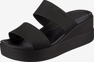 Crocs Pantolette 'Brooklyn' in schwarz, Produktansicht