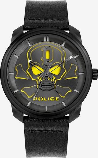 POLICE Quarzuhr 'Bleder PL15714JSB.02' in neongelb / schwarz, Produktansicht