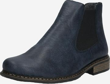 RIEKER Chelsea Boots in Blau