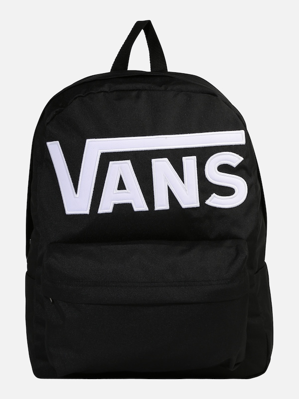 vans rucksack in schwarz wei about you. Black Bedroom Furniture Sets. Home Design Ideas