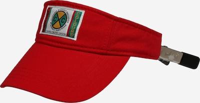 CROSS COLOURS Cap 'Vintage Visor' in mischfarben / rot, Produktansicht