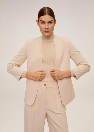 MANGO Blazer 'Boreal' in beige, Modelansicht