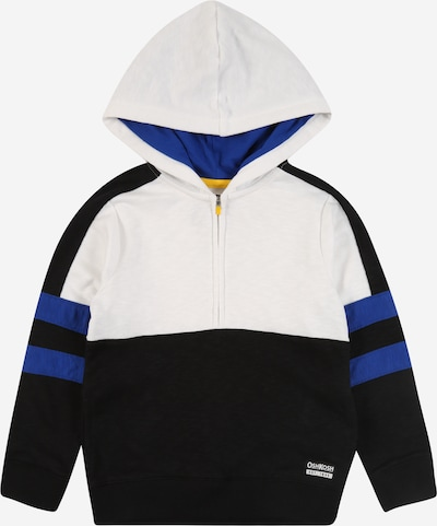 OshKosh Sweatjacke 'DS ACTIVE' in blau / schwarz / weiß, Produktansicht
