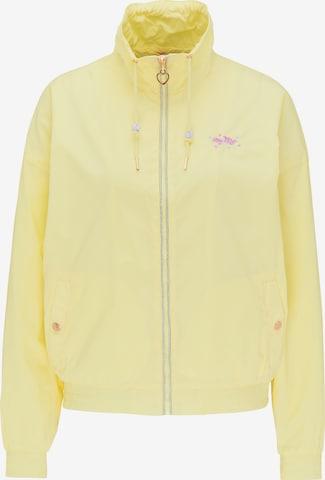 MYMO Jacke in Gelb
