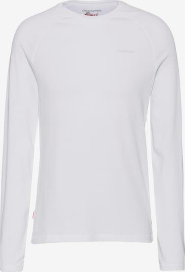 CRAGHOPPERS Langarmshirt 'NosiLife Bayame' in weiß, Produktansicht
