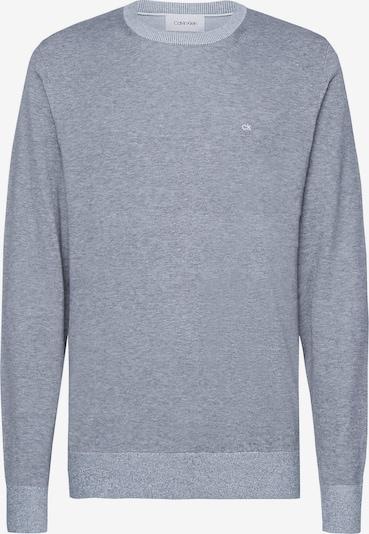 Calvin Klein Organic Cotton Silk Jumper in silbergrau, Produktansicht