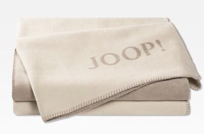 JOOP! Wohndecke 'Doubleface' in beige / dunkelbeige, Produktansicht