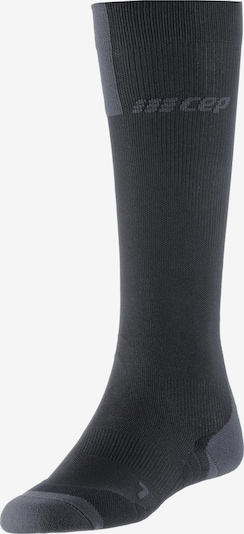 CEP Kompressionsstrümpfe 'Run Compression Socks 3.0' in dunkelgrau, Produktansicht