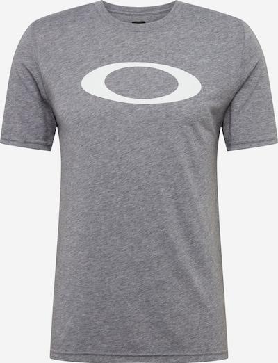 OAKLEY Funkcionalna majica 'O-Bold Ellipse' | siva / bela barva, Prikaz izdelka