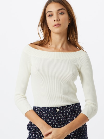 UNITED COLORS OF BENETTON Pullover in offwhite, Modelansicht