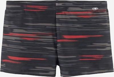 KangaROOS Plavky - grafitová / červená / černá, Produkt