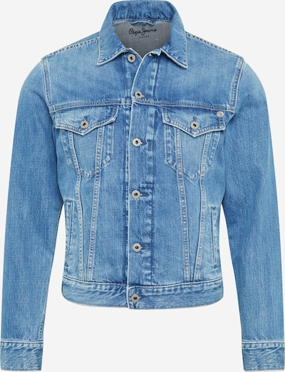 Pepe Jeans Jacke 'Pinner' in blue denim, Produktansicht