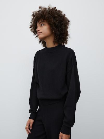 EDITED Pullover 'Hellen' in schwarz, Modelansicht
