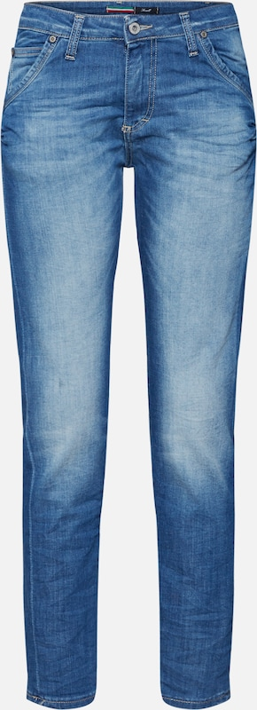 Please Now Jeans 'trousers' in blue denim / hellblau, Produktansicht