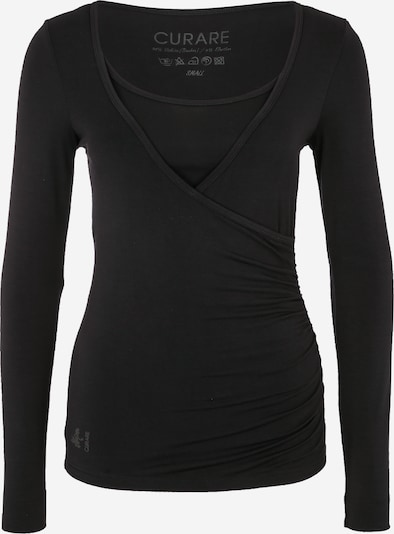 CURARE Yogawear Tehnička sportska majica 'Flow' u crna, Pregled proizvoda