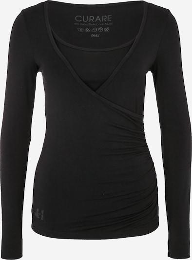 CURARE Yogawear Yoga-Langarm-Shirt 'Flow' in schwarz, Produktansicht