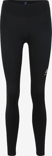 ODLO Pantalon de sport 'SMOOTH  SOFT' en noir / blanc, Vue avec produit