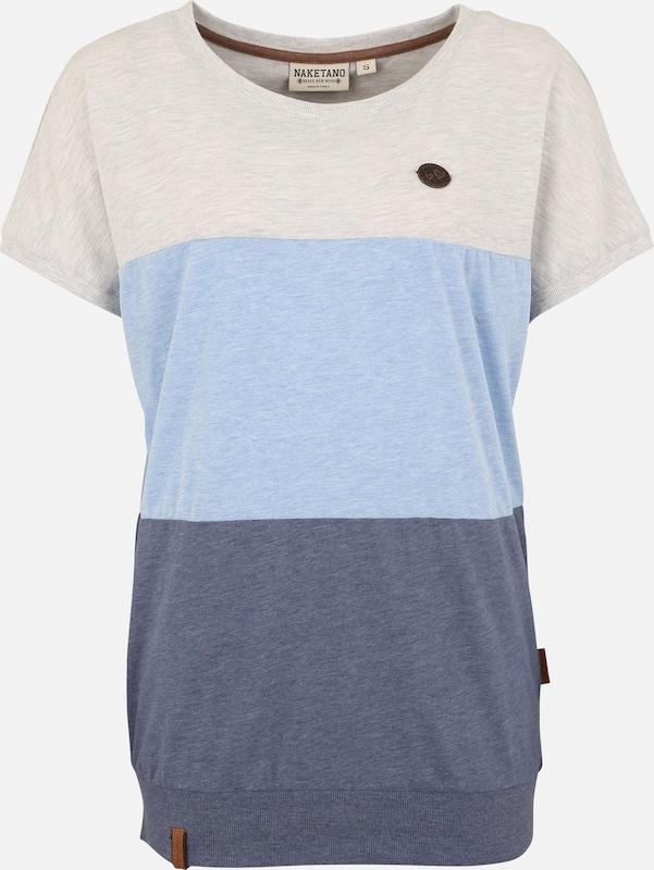Rücken 'meinen T En Clair Bleu Naketano grisBleu Gris shirt Schmücken' zpMqVjLSUG