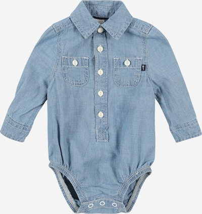 OshKosh Bodysuit 'Woven' in blue denim, Produktansicht