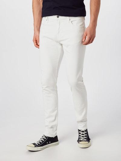 GUESS Jeans 'CHRIS' in white denim, Modelansicht