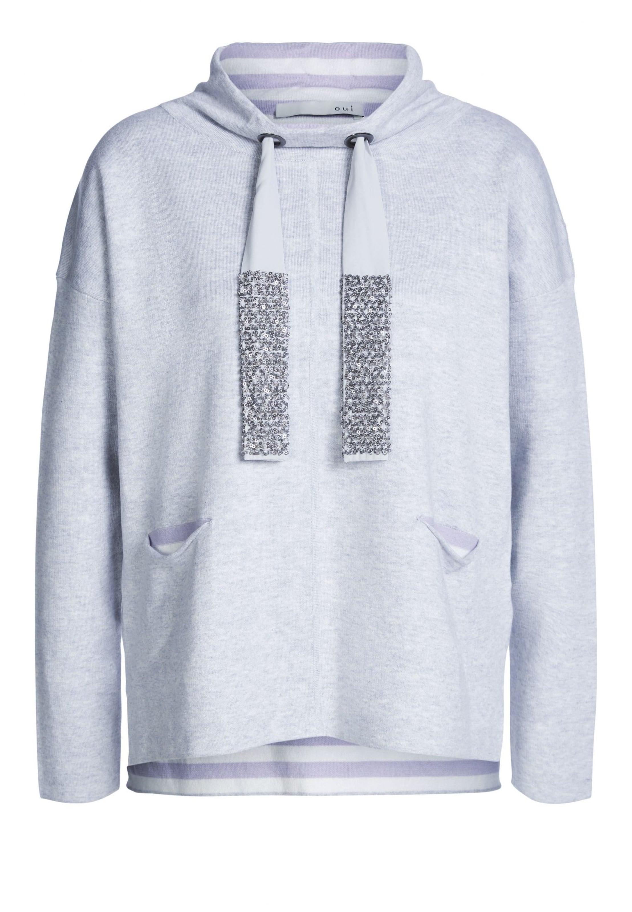 Graumeliert Pullover Pullover Oui In Oui lFKuJ5T13c